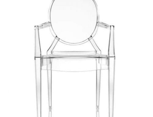 La chaise Louis Ghost par Kartell