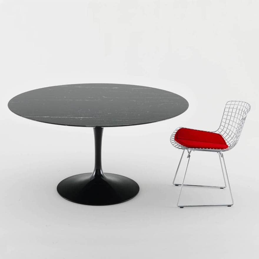 table ovale saarinen occasion perfect related image of. Black Bedroom Furniture Sets. Home Design Ideas