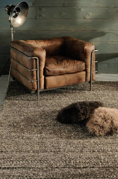 Tapis Irish 100 % laine naturelle chez Toulemonde Bochart